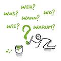 Projektmagement - Wie, Was, Wann, Wer, Warum - Fragen über Fragen